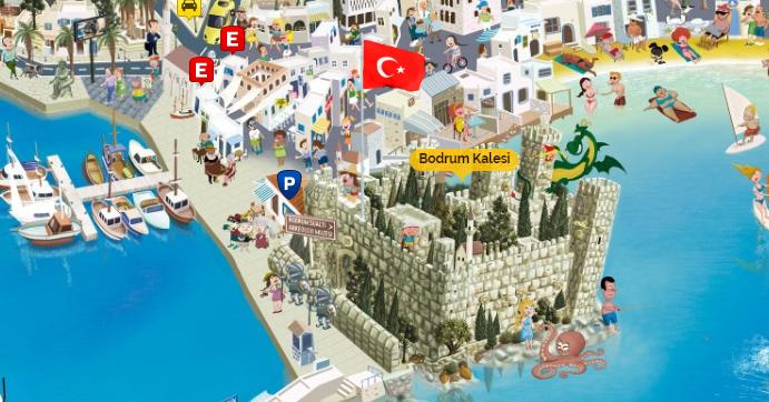 Bodrum Gezi Mekanları